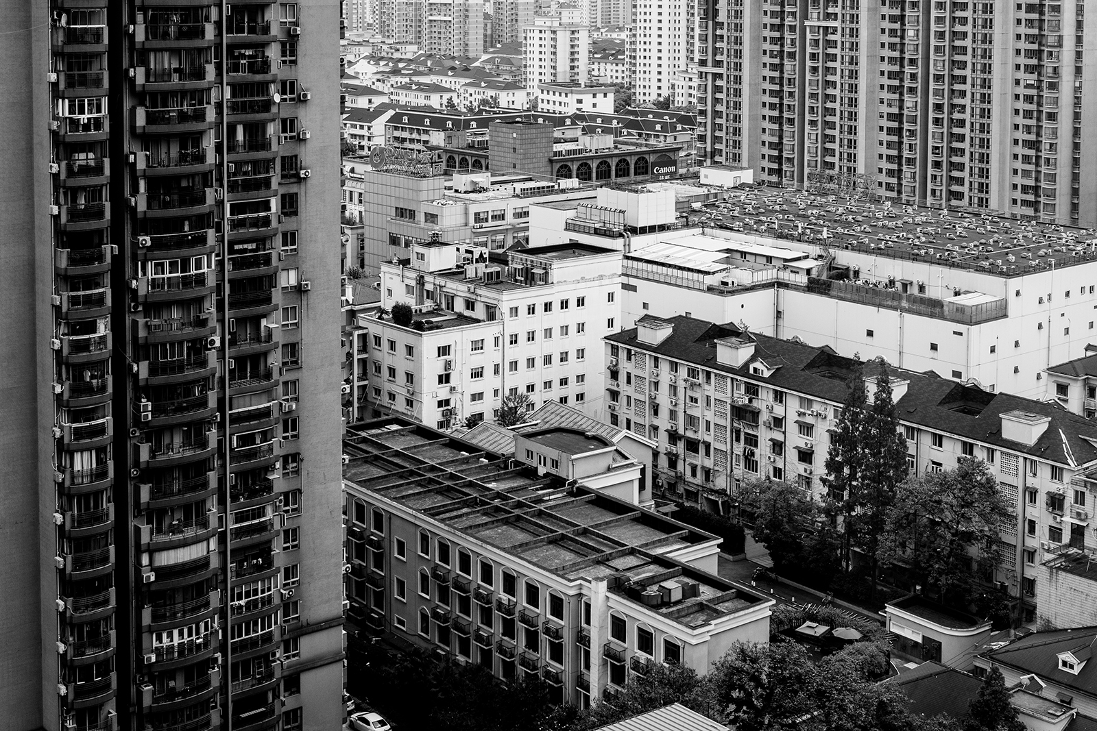 view of buildings from Shanghai